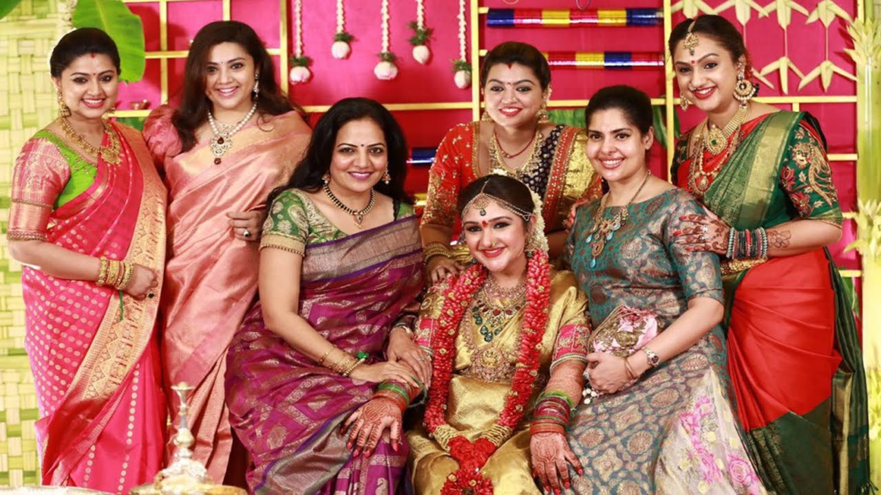 Actress Sridevi Vijayakumar Baby Shower Function ...