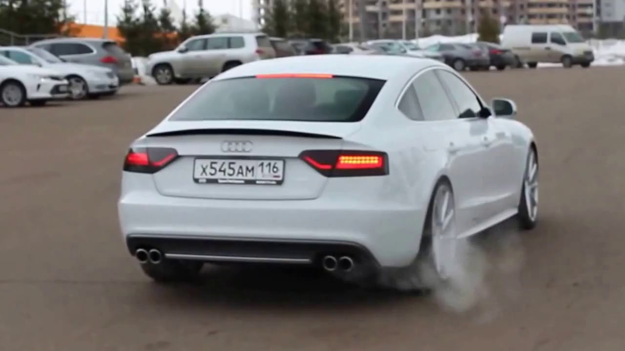 audi a5 sportback w magnaflow exhaust