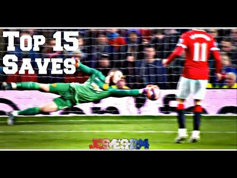 David De Gea Top 15 Saves 2014/15 (HD)