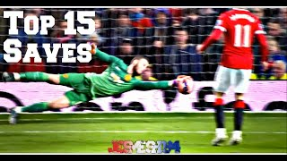David De Gea Top 15 Saves 2014/15 (HD)