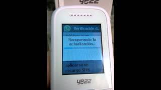 Yezz c21 classic Whatsapp