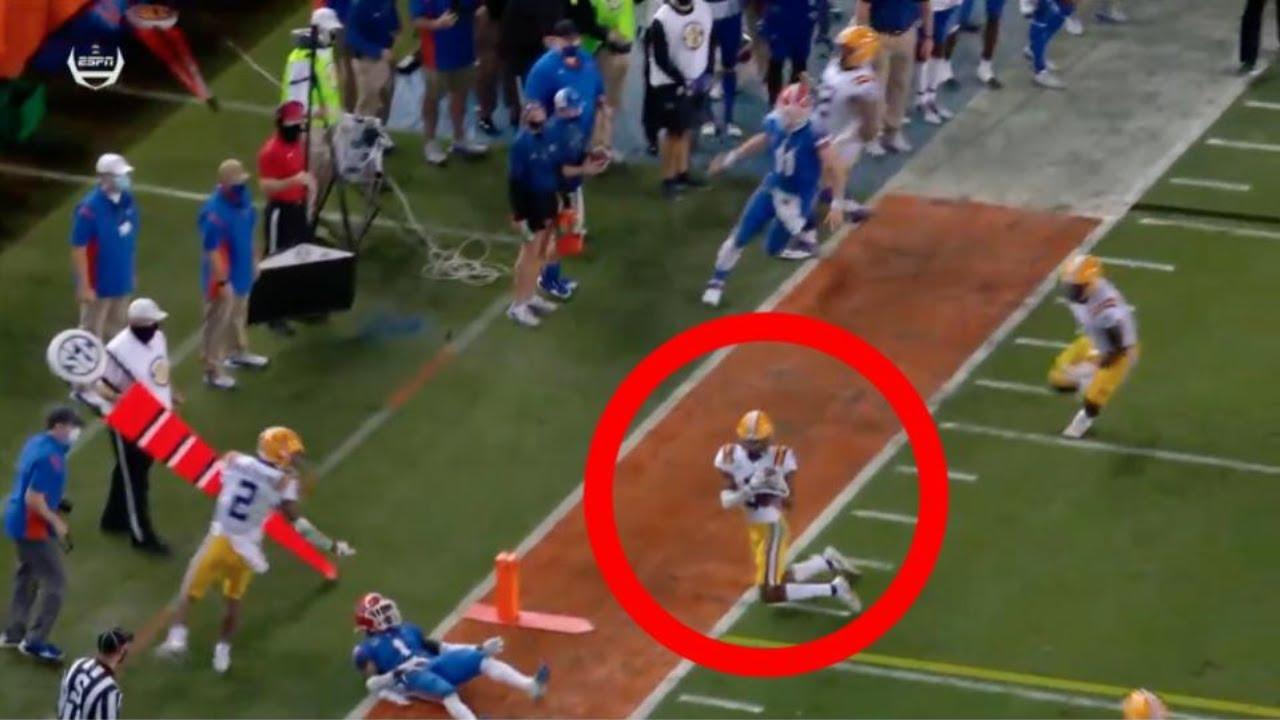 Florida vs. LSU score: Tigers' ground game, four interceptions ...