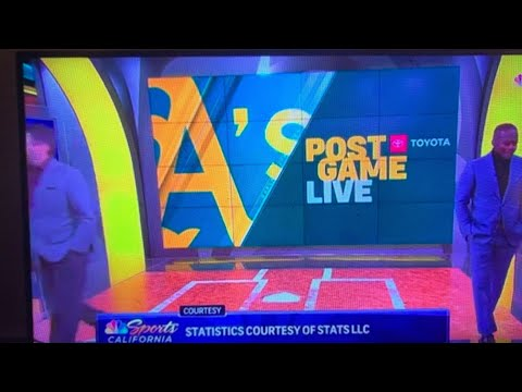 Oakland A's Broadcasters Walk Off Set In Reaction To Dave Kavel's Las Vegas Tweet - Vlog