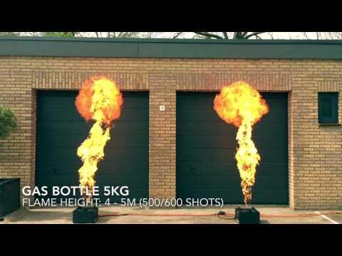 Magic FX Stage Flame huren impressie video