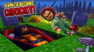 minecraft how to become the evil doll chucky donut the dog