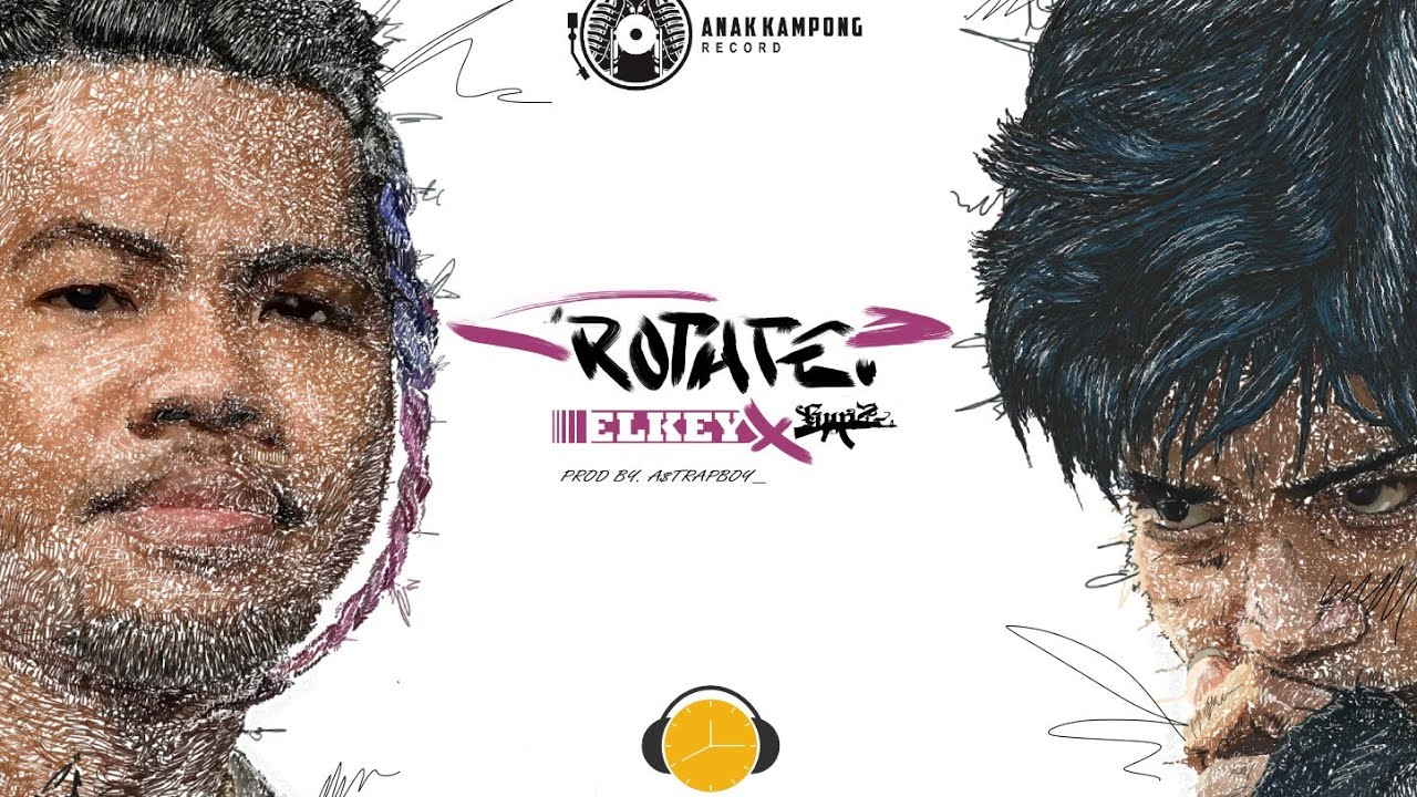 ELKEY Ft. GunZ - ROTATE ( Official Music Video )