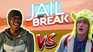 Roblox Jailbreak KSI vs Logan Paul previsioni! Gamepass Boss gratis! | Aggiornamento di arma di jailbreak!