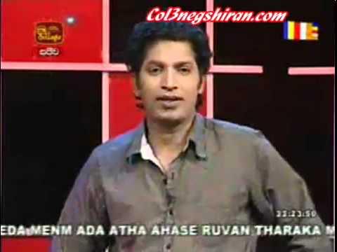 "Former LTTE member sings a Sinhala Song  "" Hanthanata Payana Sada """