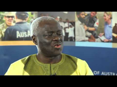 General Martin Agwai discusses African Peacekeeping