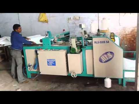 Automatic Bag Stitching Machine Youtube