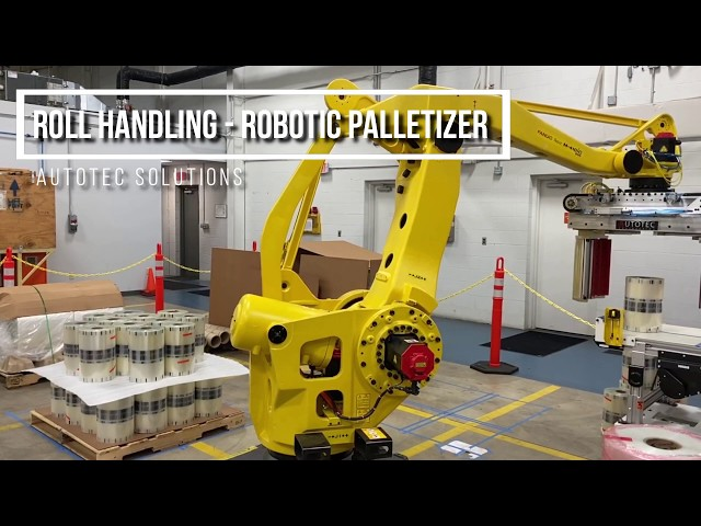 Roll Handling   Robotic Palletizer