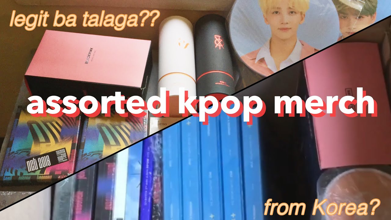 Unboxing KPop Merch Pasabuy from South Korea | Philippines