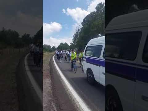 1er peregrinacion ciclista a Morelia grupo San Miguel Arcángel