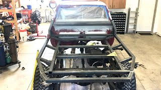 Building A Custom Flat Bed Toyota Pickup Episode 1