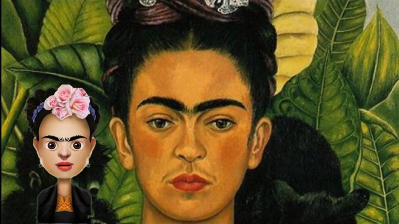Frida Kahlo Para Dibujar: Frida Kahlo Kawaii Dibujando Con Vani T Frida Kahlo And