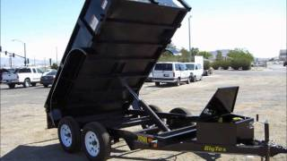 Big Tex Tandem Axle Dump Trailers, Dump Trailers, Light Duty Dump