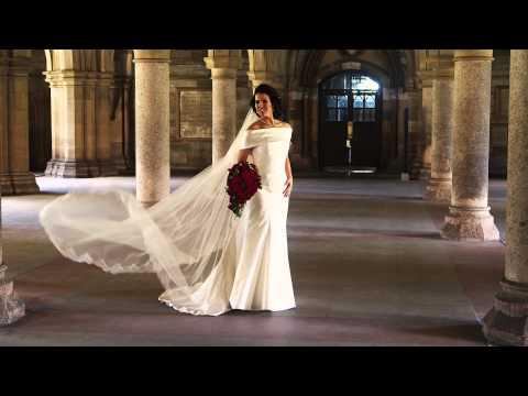 Pollok House & Glasgow University Wedding Film - Aimee & Paul