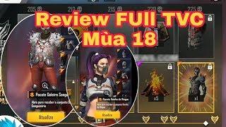 ReView Full Thẻ Vô Cực Mùa 18 Free Fire - Trãi Nghiệm TVC Mùa 19   Thịnh LT Gaming