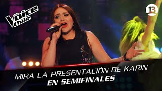 The Voice Chile | Karin Cáceres - Heaven