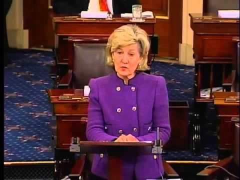 Sen. Hutchison Delivers Farewell Remarks on Senate Floor
