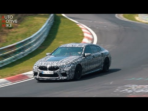 BMW M8 Gran Coupe Tortures Tires During Nurburgring Test