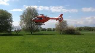 Christoph 12 Eurocopter Rettungshubschrauber EC 135 als Scale RC Modell