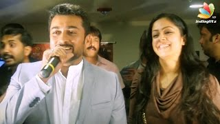 Surya and Jyothika Speech at 24 Movie USA Premier Show