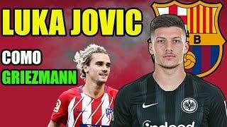 ¡jovic se marca un griezmann!   noticias fc barcelona