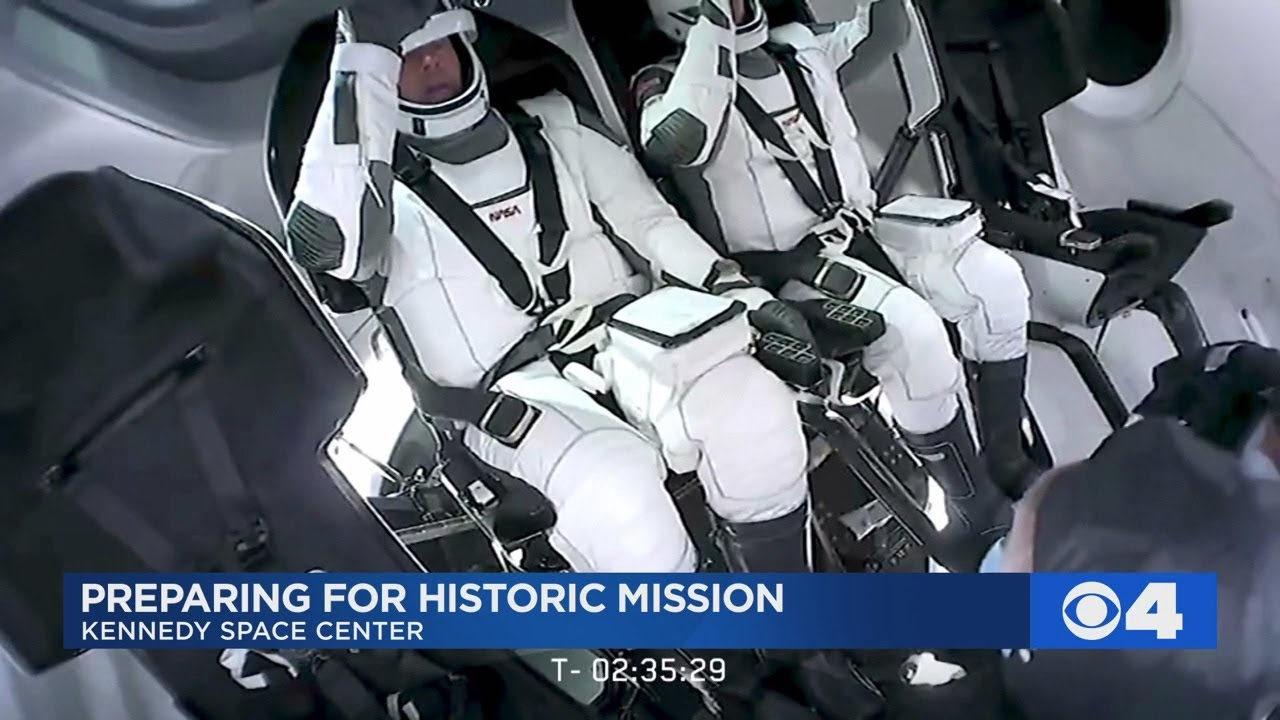 Astronaut from St. Ann will fly on historic SpaceX mission this week - KMOV St. Louis