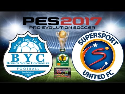 PS4 PES 2017 Gameplay Barrack Young Controller vs Supersport United FC HD