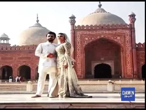 Urwa and Farhan Get Marreid at Badshahi Mosque