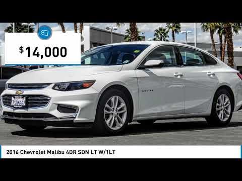 2016 Chevrolet Malibu SAN DIEGO ORANGE COUNTY LOS ANGELES  INLAND EMPIRE  PALM SPRINGS R0612