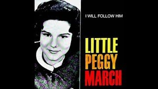 LITTLE PEGGY MARCH - I WILL FOLLOW HIM - PIANO TUTORIAL