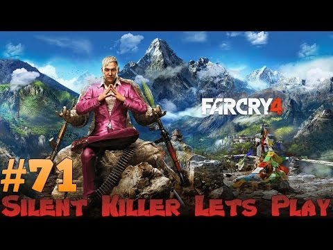 Farcry 4 Stealth + Silenced Weapons Lets Play - Pagans Mean! Ep 71
