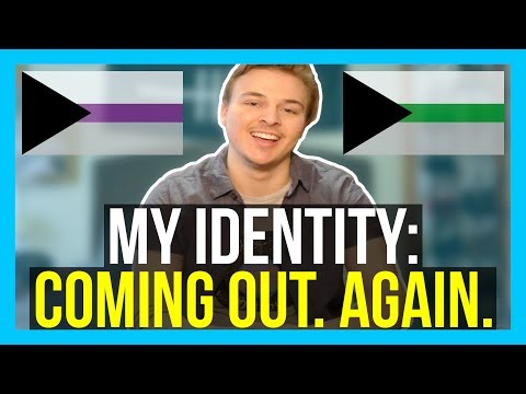 My Identity - Coming Out Demiromantic/Demisexual [CC] || Jeff Miller