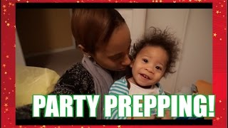 VLOGMAS DAY 11: PARTY PREPPING!
