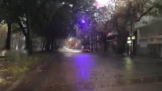 Bv. Galvez. Intensas lluvias en Santa Fe. 05/05/19