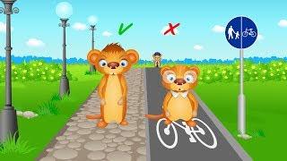 Bezpieczeństwo na drodze - Bajka po polsku