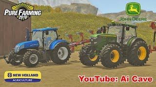 How to install Pure Farming 2018 mods | PF 2018 - John Deere & New Holland Tractors