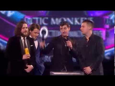 Arctic Monkeys Best British Group BRIT Awards 2014 HD