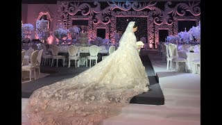 The Most Breathtaking Wedding Setup and Wedding Dress You Will Ever See !