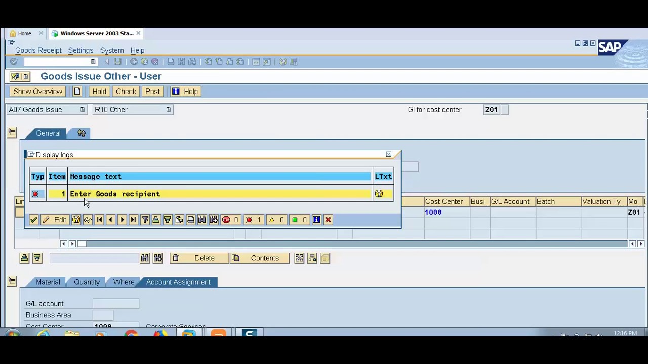 SAP Movement Types | Movement Types In SAP MM | Movement Type Configuration  In SAP MM