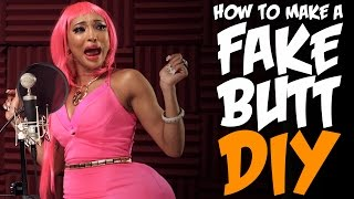 How To Get A Butt Like Nicki Minaj! KOA DIY