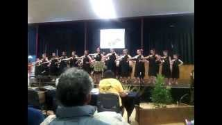 St Josephs school kapa haka amazing performance Hawera New Zealand 3