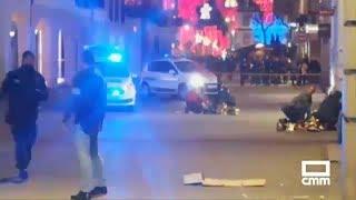 Dos muertos y 11 heridos, siete de gravedad, en un tiroteo en Estrasburgo, Francia