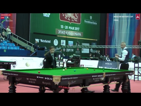 SNOOKER | MOSCOW MAYOR'S CUP 2017 | Final.  Nigel Bond vs Anthony Brabin.  1-st session Best of 9