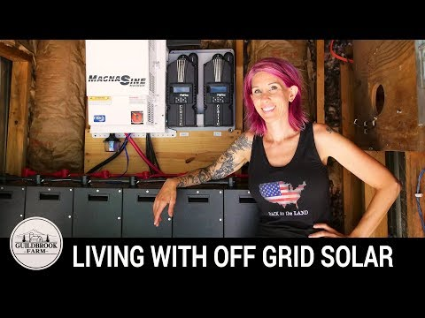 The Real Truth About Living Off Grid With Solar Energy