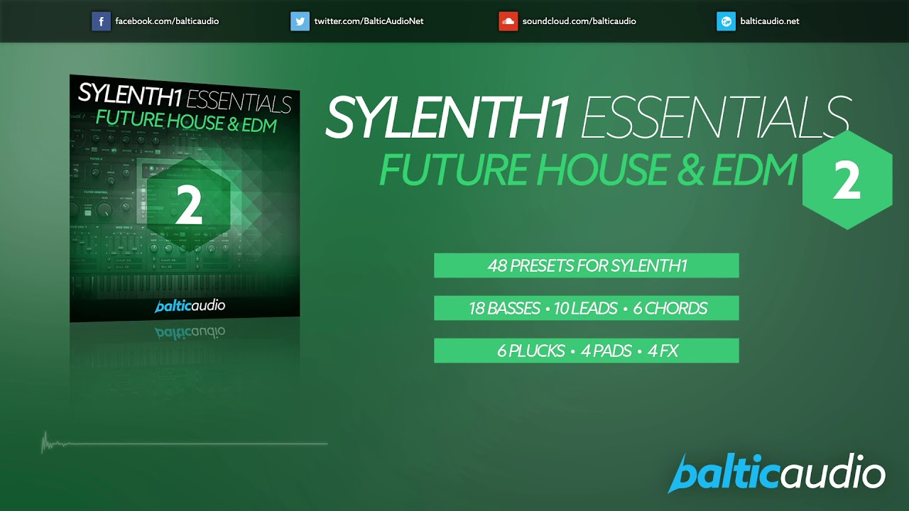Sylenth1 Essentials Vol 2: Future House & EDM (48 Sylenth1 presets)