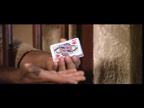 Terence Hill als Nobody: Kartentrick