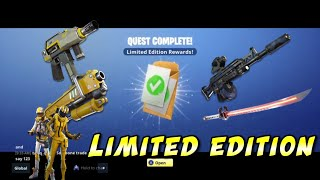 Fortnite Save the World Rewards for limited deluxe edition